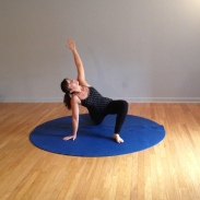 Open feet and hands, stretch spine, twist easy.